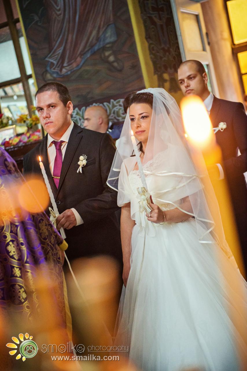 Orthodox wedding church ceremony photography