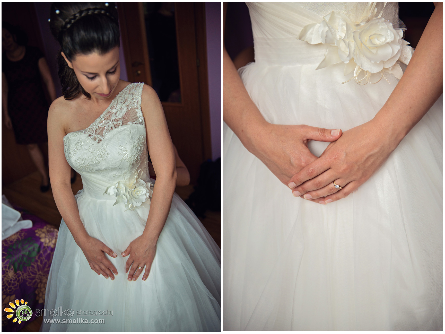 Bride photosession