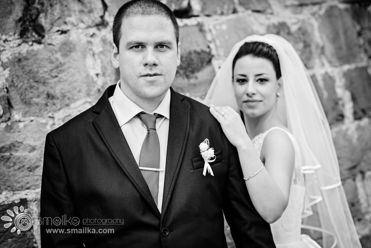 Wwedding couple portrait