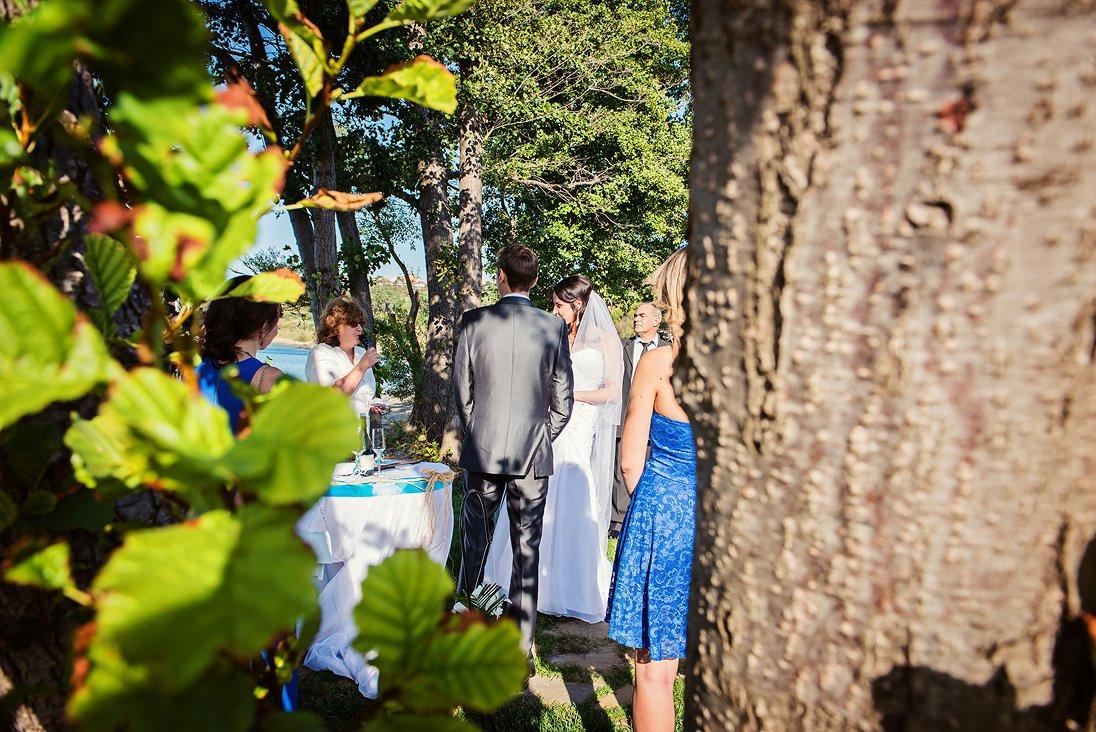 Sneak photo of the wedding ritual