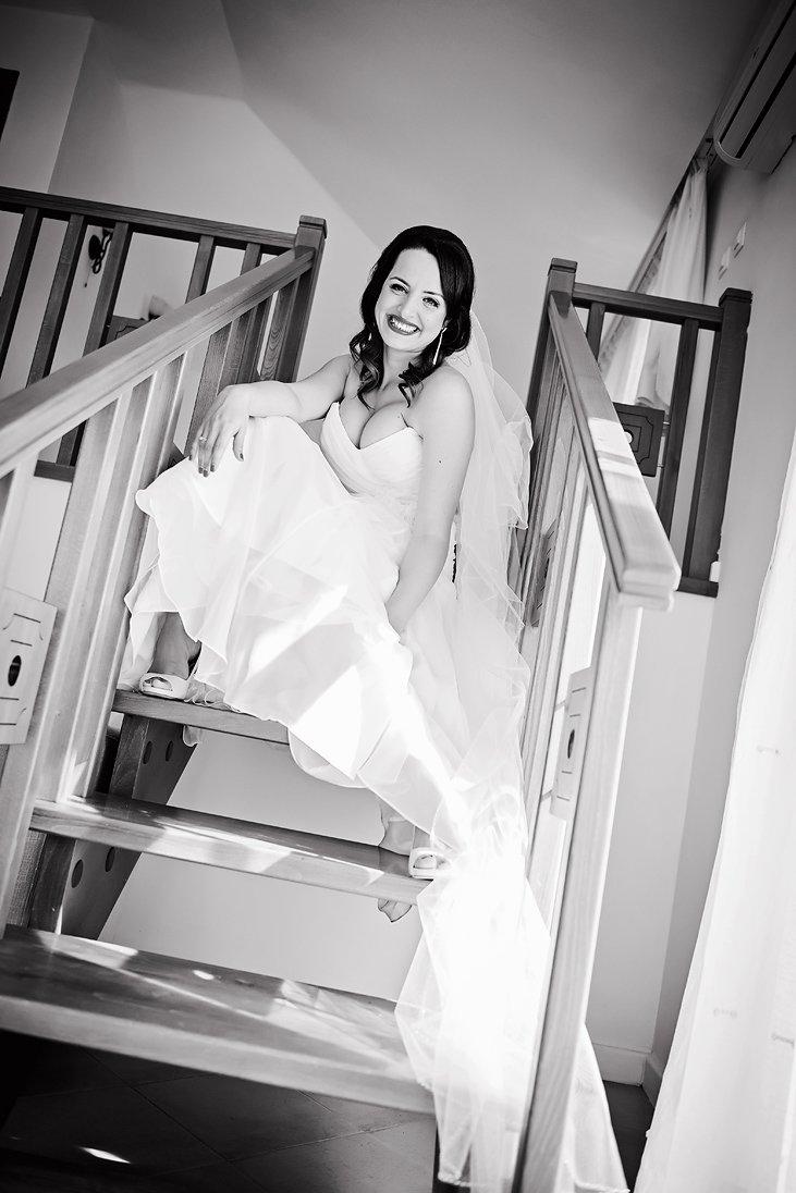 Happy bride is the best bride