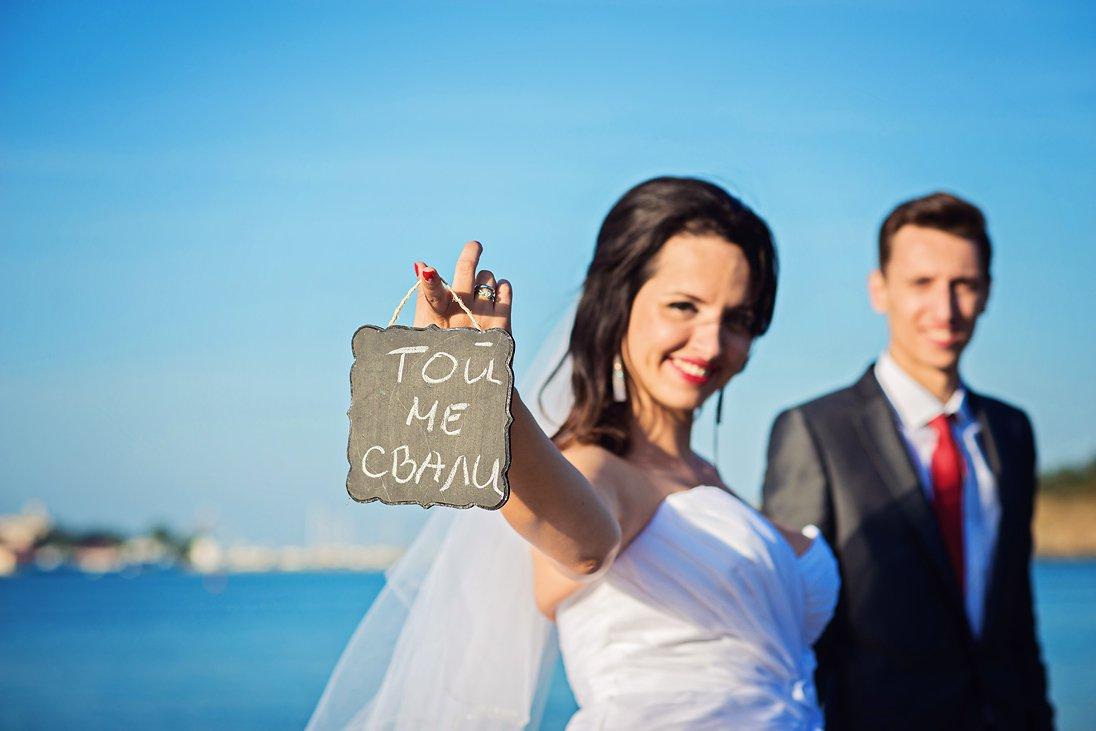 He got me - wedding photography on the beach