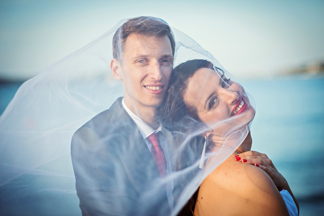 Wedding couple photo session in Santa Marina, Bulgaria
