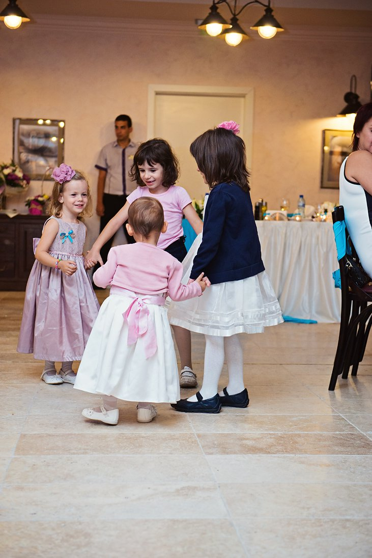 Little guests on the wedding party