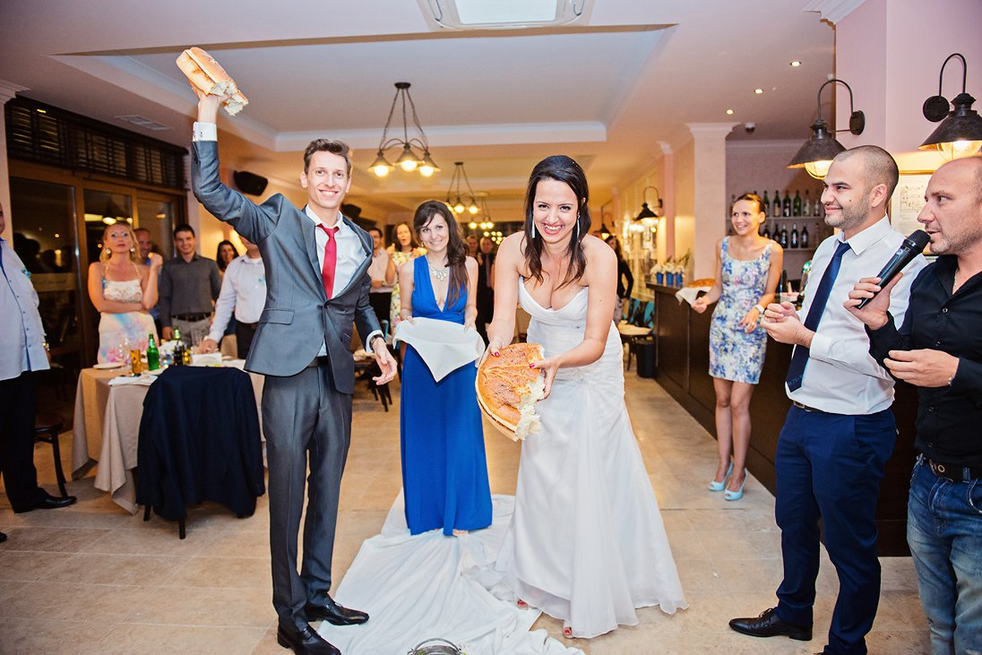 Breaking the bread bulgarian wedding traditions
