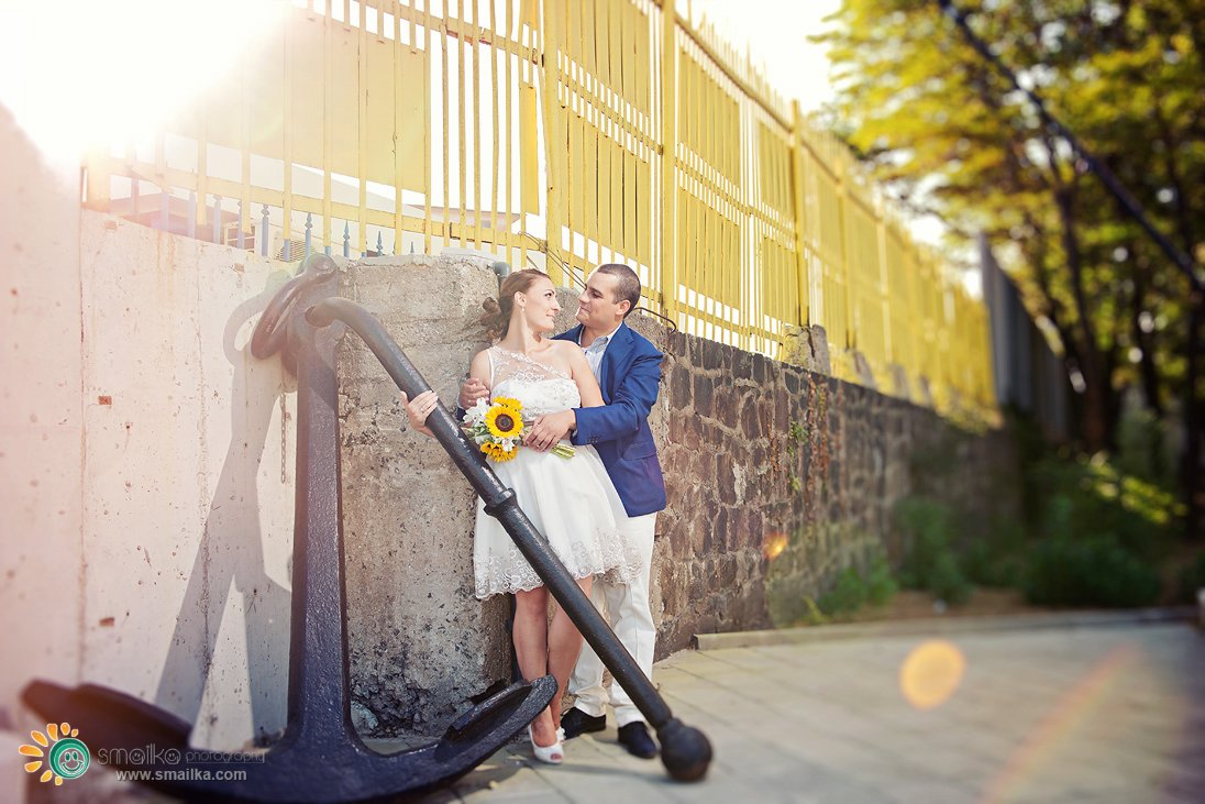 Wedding photosession in Burgas