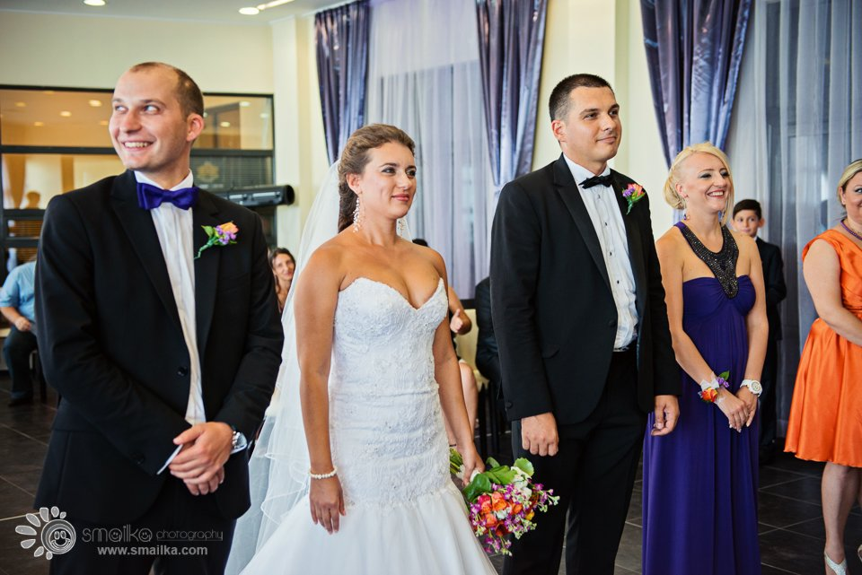 MIlena Nikolay civil ritual wedding photography