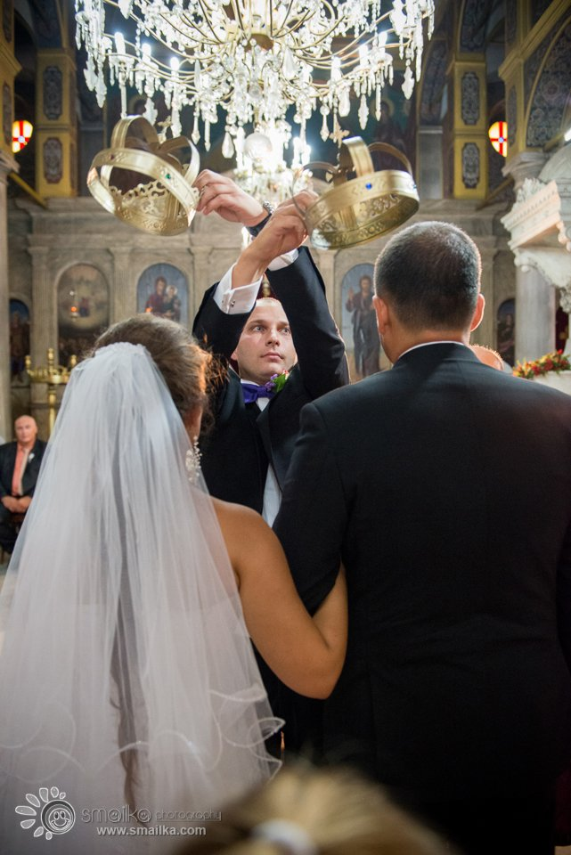 Milena Nikolay wedding church ceremony photography