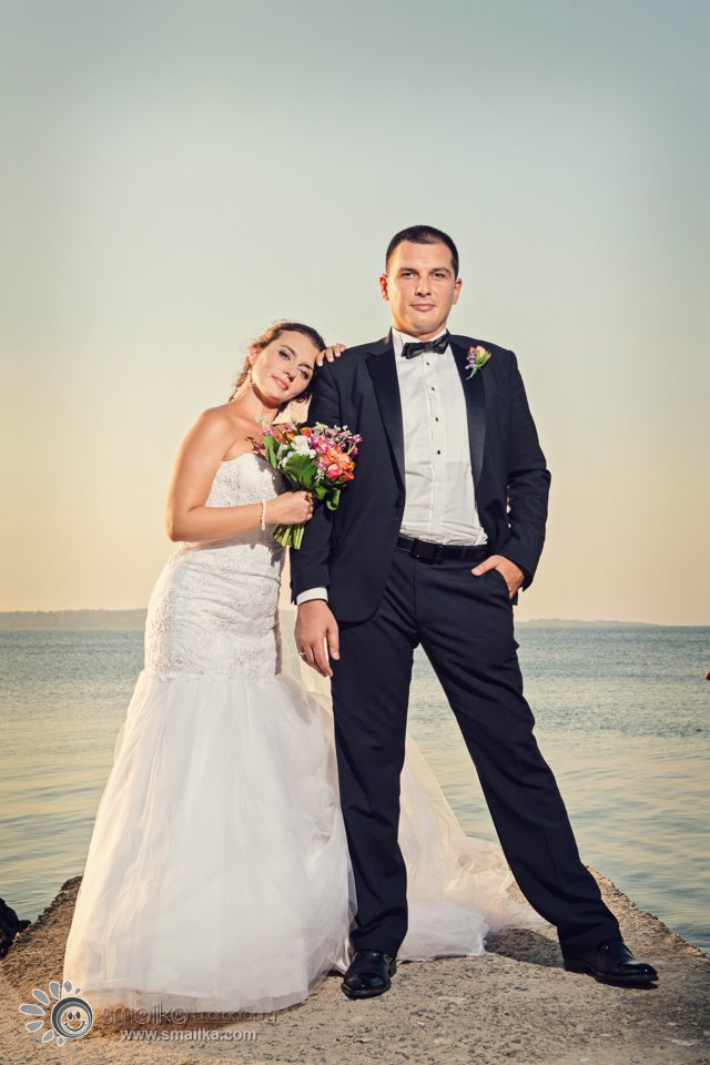 Wedding photosession Santa Marina Sozopol by the sea