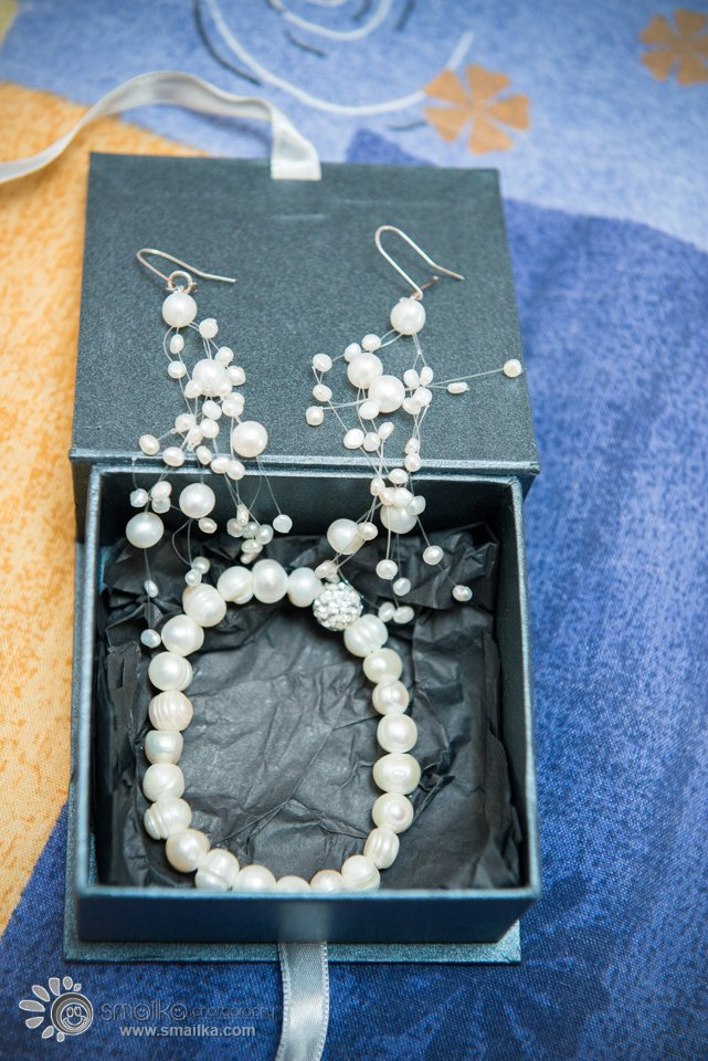 Bride earrings and necklace