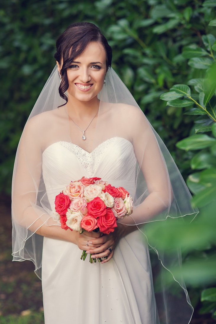 Bridal portrait wedding photo session