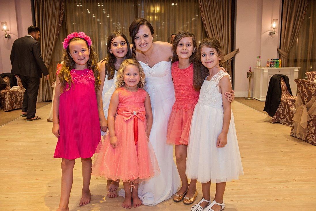 Bride and little brides
