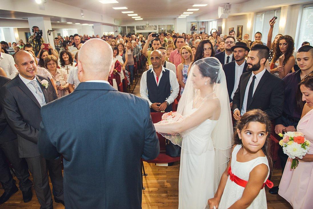 Chuch wedding ceremony photography