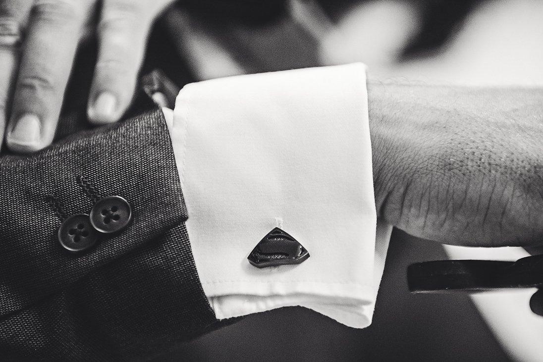 Groom cloth details