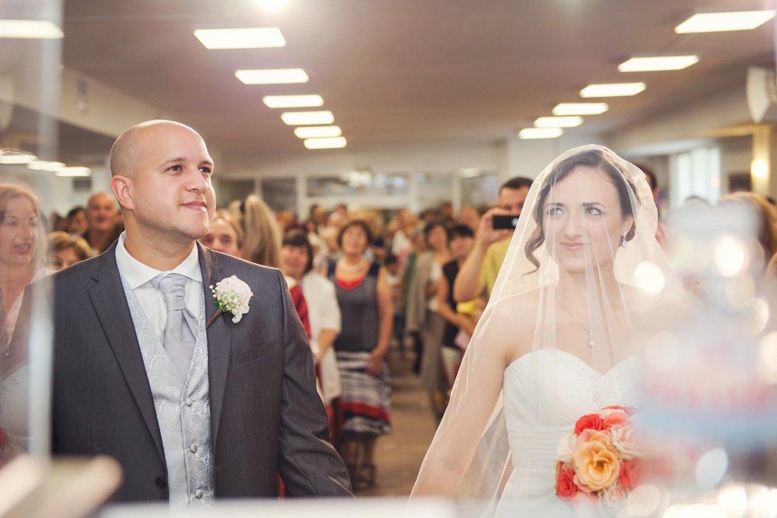 Church wedding ceremony in Burgas, Bulgaria