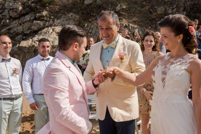 Photo 035 from Морската сватба на Дени и Светльо в Анел