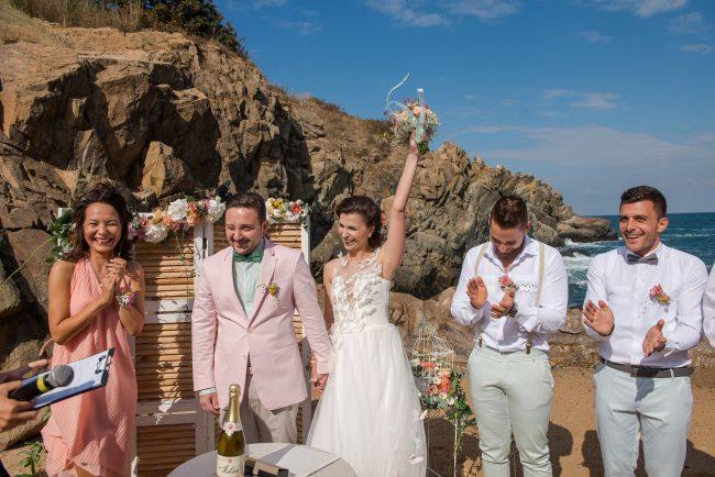 Photo 039 from Морската сватба на Дени и Светльо в Анел