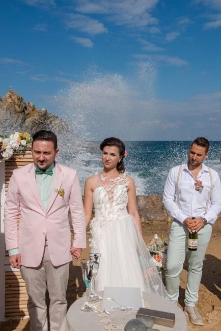 Photo 046 from Морската сватба на Дени и Светльо в Анел