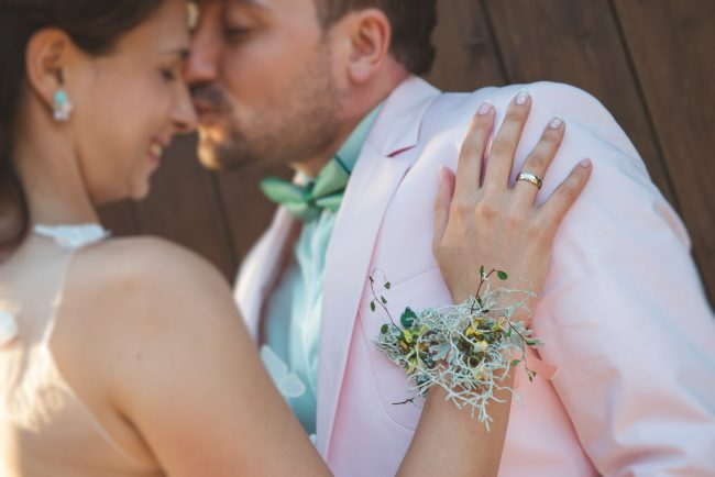 Deni and Svetlin Emotional Wedding Photo