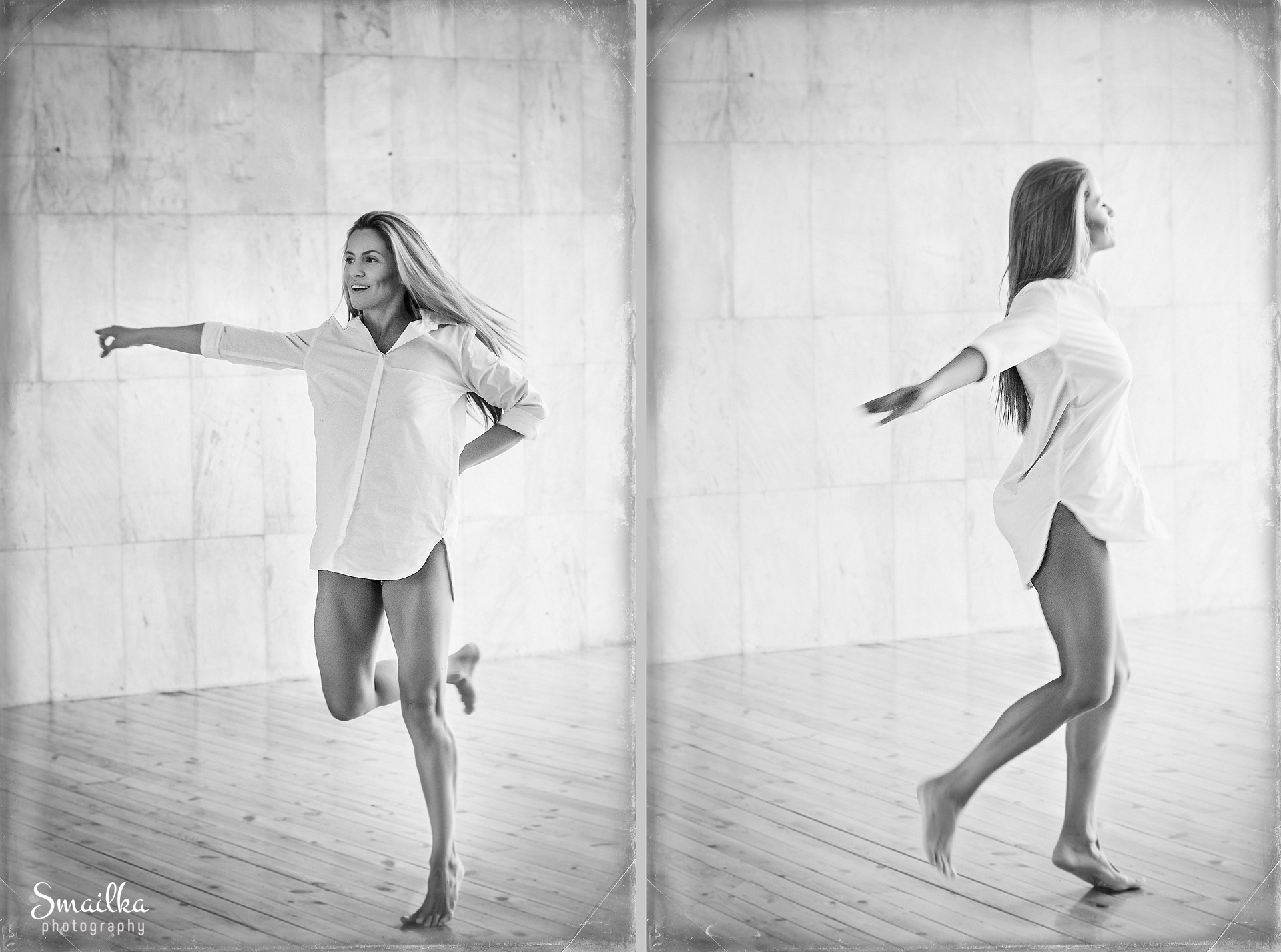 Lifestyle photography Yanica Dobrich dancing