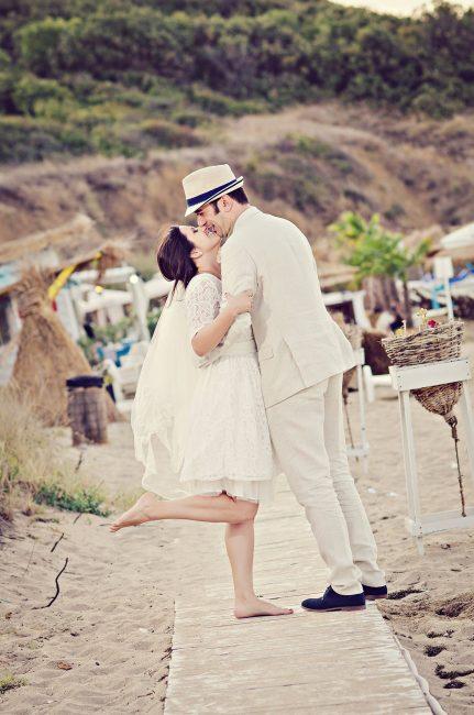 Photo 027 from Сватба на морския бряг, Мария и Страхил – нежност и страст