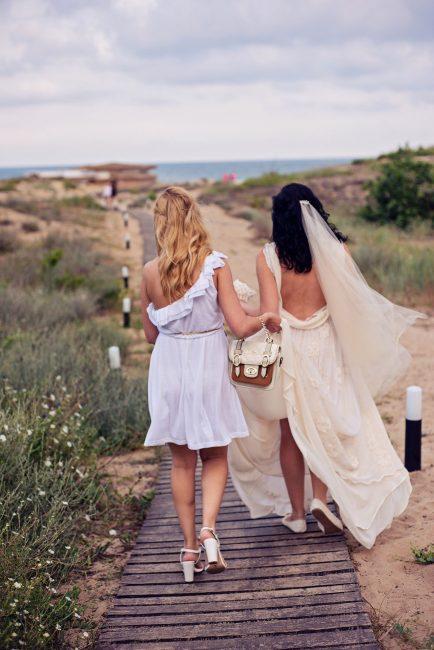 Photo 11 from Деси и Мартин – лежерна бохо сватба на плажа!