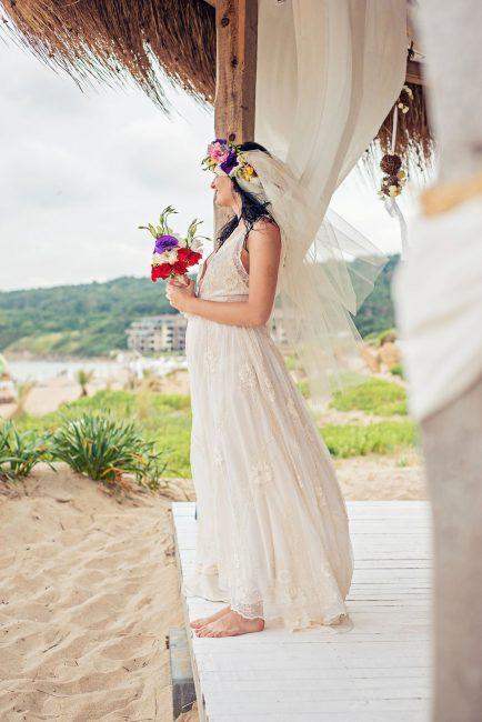 Photo 16 from Деси и Мартин – лежерна бохо сватба на плажа!