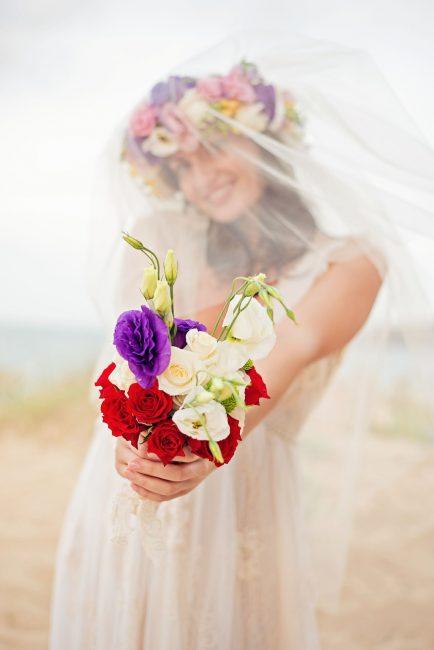 Photo 17 from Деси и Мартин – лежерна бохо сватба на плажа!