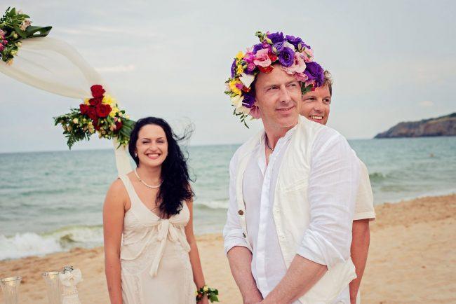 Photo 18 from Деси и Мартин – лежерна бохо сватба на плажа!