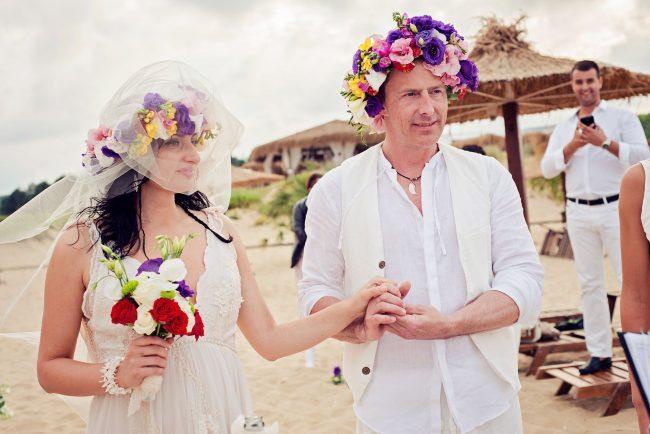 Photo 20 from Деси и Мартин – лежерна бохо сватба на плажа!