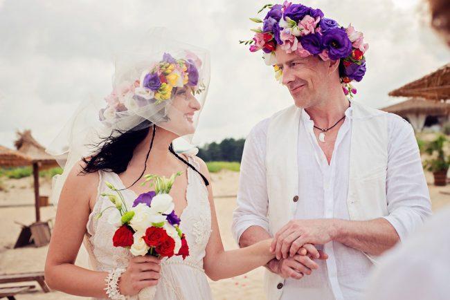 Photo 21 from Деси и Мартин – лежерна бохо сватба на плажа!