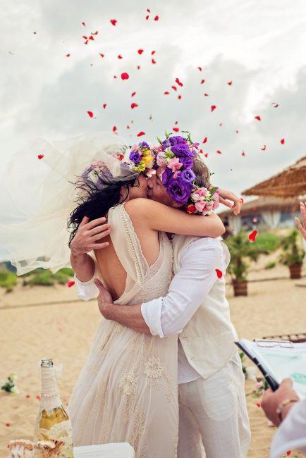 Photo 22 from Деси и Мартин – лежерна бохо сватба на плажа!