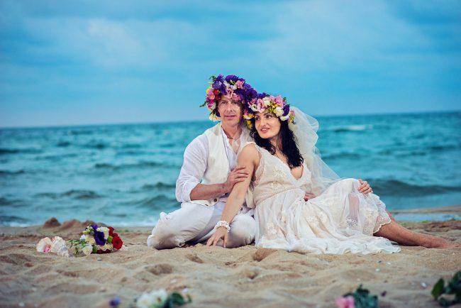Photo 28 from Деси и Мартин – лежерна бохо сватба на плажа!