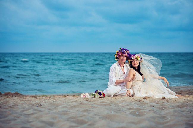 Photo 29 from Деси и Мартин – лежерна бохо сватба на плажа!