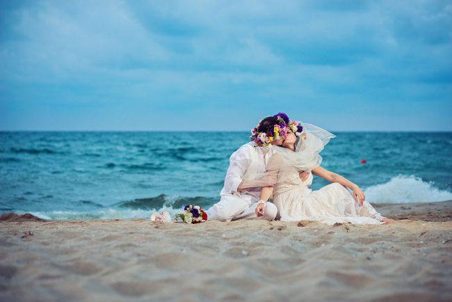 Photo 30 from Деси и Мартин – лежерна бохо сватба на плажа!