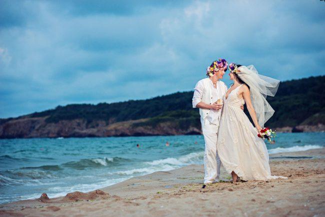 Photo 31 from Деси и Мартин – лежерна бохо сватба на плажа!