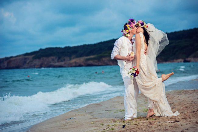 Photo 32 from Деси и Мартин – лежерна бохо сватба на плажа!