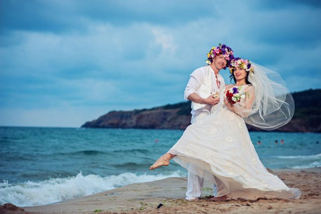 Photo 33 from Деси и Мартин – лежерна бохо сватба на плажа!