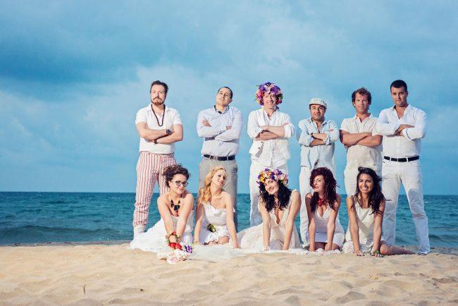 Photo 37 from Деси и Мартин – лежерна бохо сватба на плажа!