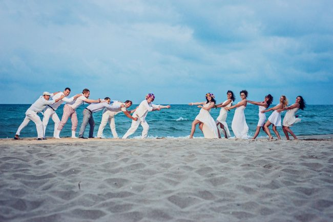 Photo 38 from Деси и Мартин – лежерна бохо сватба на плажа!