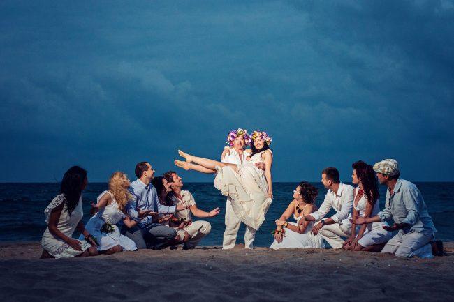 Photo 39 from Деси и Мартин – лежерна бохо сватба на плажа!