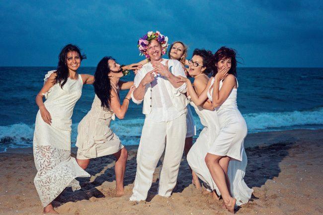Photo 40 from Деси и Мартин – лежерна бохо сватба на плажа!