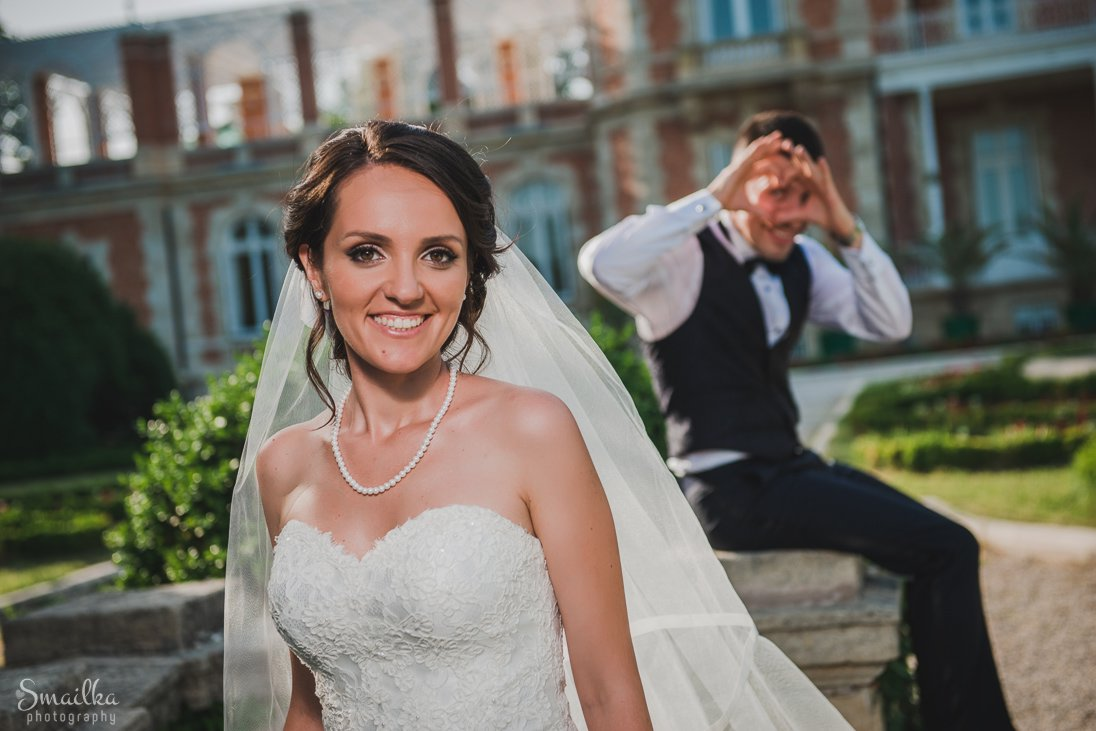 A coupole wedding photosession at Euxinograd palace
