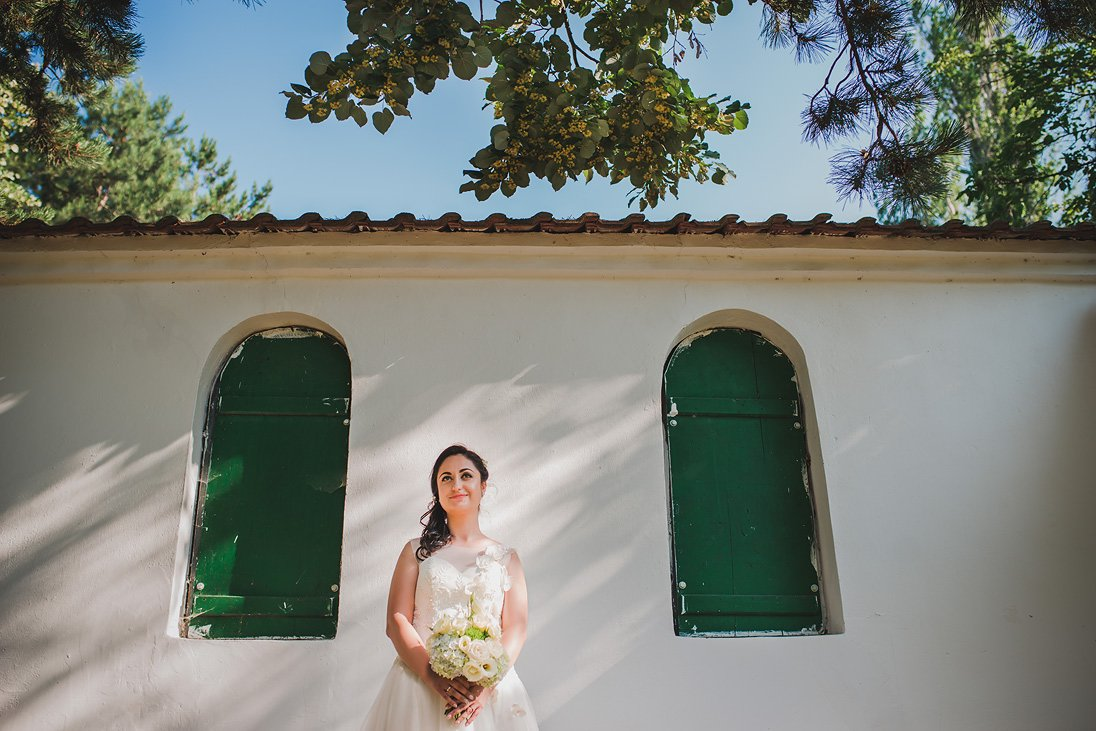 Wedding Photosession Portrait of a Bride
