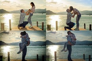 Plamena Engagement Lake Story