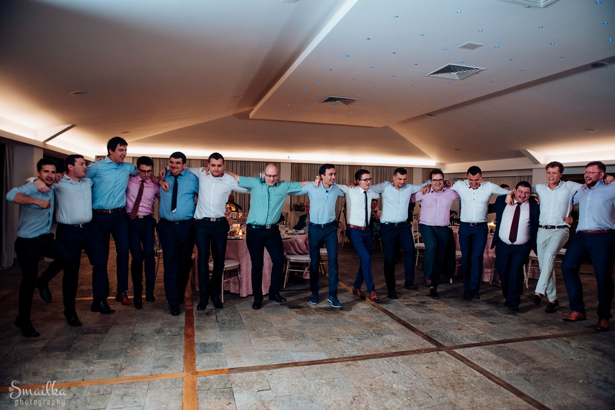 Men on wedding dancing at Black Sea Rama