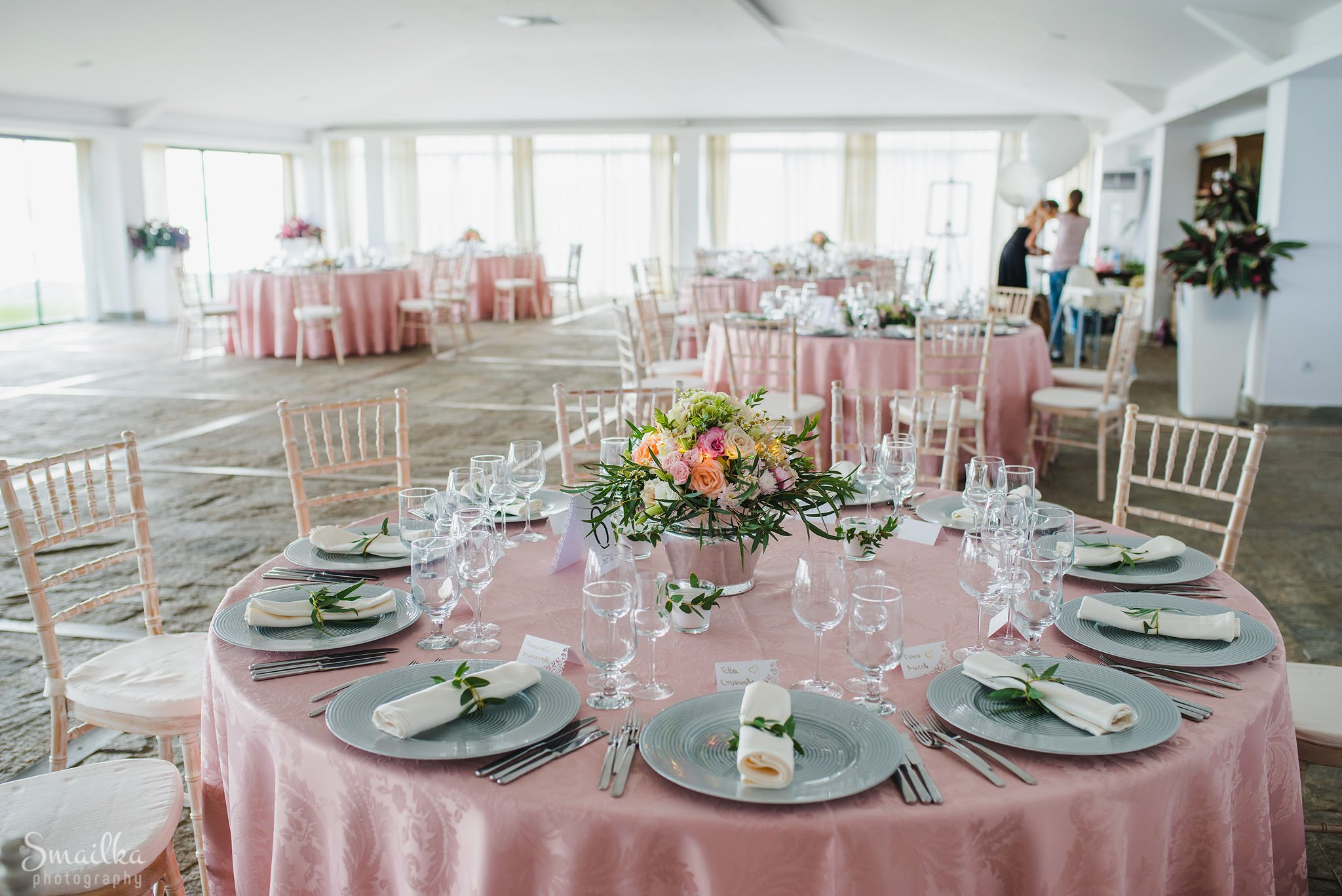 wedding decoration at Black Sea Rama