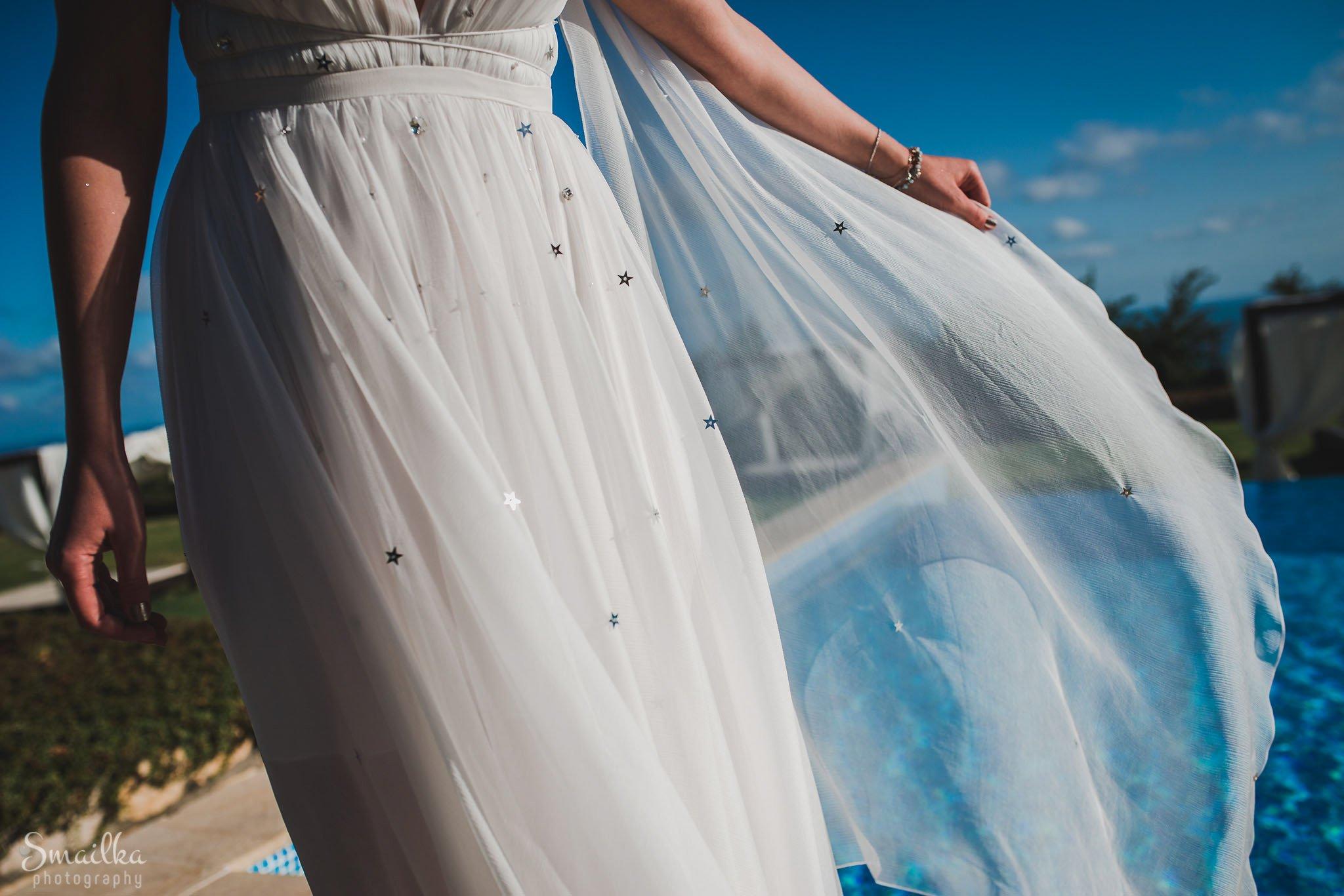 Bridal dress at Black Sea Rama