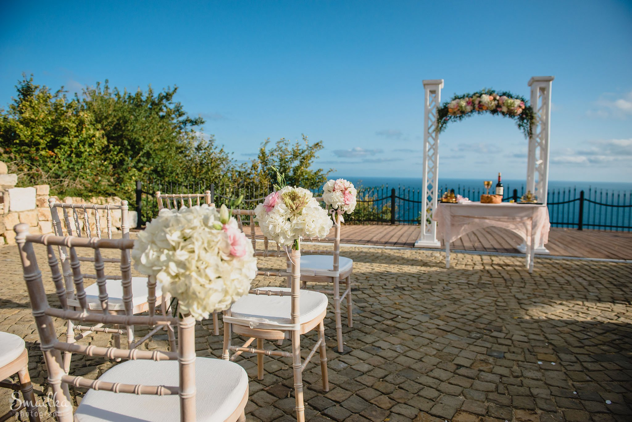 Wedding decoration at Black Sea Rama, Stilezza