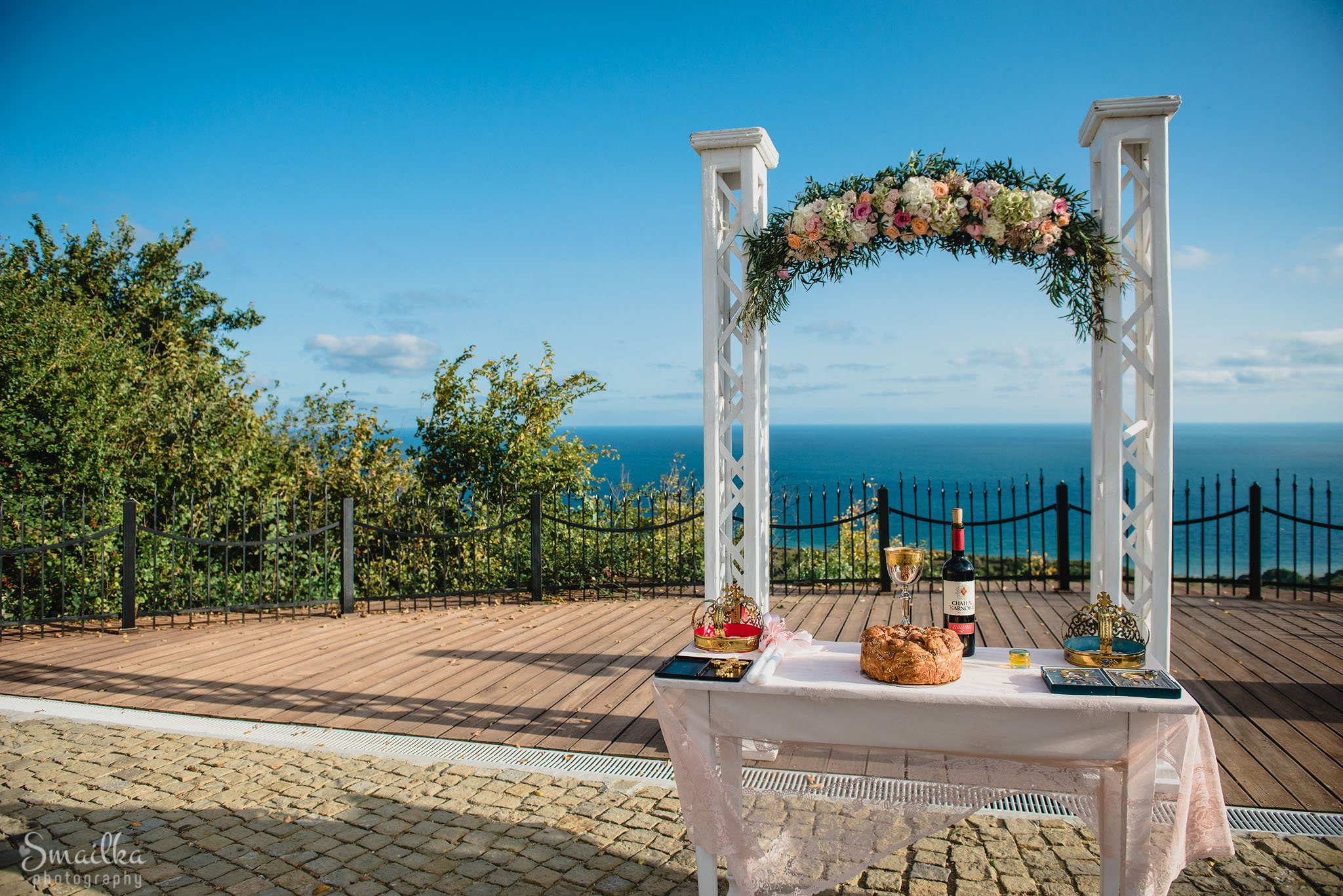 Wedding arc at Black Sea Rama, Stilezza agency